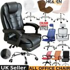 Adjustable Executive Office Desks Chair Ergonomic Computer Cushioned High Chair