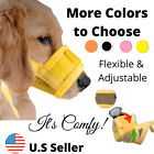 Dog Muzzle Mask Adjustable Mouth Grooming Anti Stop Bark Bite Pet S-2xl Large