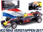 BBURAGO 38035 38039 or 38042 RED BULL F1 car Max Verstappen 2017 2018 2019 1:43