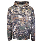 Green Mark Men's Seclusion 3D Wilderness Camo Pull Over Hoodie S01