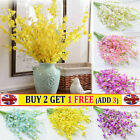Realistic Fake Flowers Wedding Xmas Orchid Artificial Party Home Office Decor