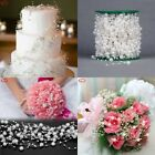 5M Pearl Chain Wedding Cake Decor Fishing Line Beads Flower Chain Garland Decor