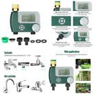 Battery Operated Automatic Watering Sprinkler System Irrigation Controller Progr