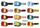 100% STRATA 2 Goggles -ALL COLORS- Offroad MX MTB Motocross - MIRROR LENS