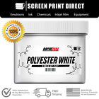 Внешний вид - Polyester White - Screen Printing Plastisol Ink - Low Temp Cure 270F