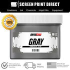 Внешний вид - Gray - Screen Printing Plastisol Ink - Low Temp Cure 270F - All Sizes