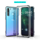 For HTC Desire 20 Plus U20 5G 19+ 12s U19e U12 Life Clear Shockproof TPU Case