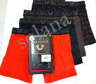 True Religion 3+1 Pack Luxe Touch Modal Limited Edition Boxer Briefs w/Gift Box