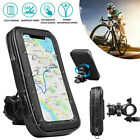 Universal Motorcycle Bicycle Bike Handlebar Cell Phone GPS Mount Holder Bag Case