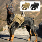 Military Tactical Dog Harness No Pull Dog Molle Vest Adjustable for Large Dogs
