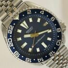 Seiko Diver Modified 7002-700A Blue Automatic Mens Watch Authentic Working