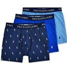 POLO Ralph Lauren 3 STRETCH Cotton  Boxer Briefs Classic Fit Underwear $42.50