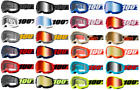 100% Strata 2 Adult Goggle Motocross Motorcycle Mx Dirt Bike Off Road Atv Utv