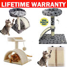 Sisal wall cat scratcher board Cat Tree Scratching Post Pet Activity Center UK