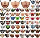 Christmas Face Reusable Masks0 Washable Mouth Nose Breathable Protection Cover