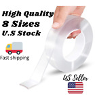 2020 Nano Tape (8 sizes) Reusable Clear Double Sided Anti-Slip,Washable Adhesive