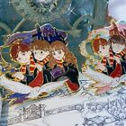 HP Harry Hermione Hogwarts Metal Badge Brooch Pin Collection Limited Gift N