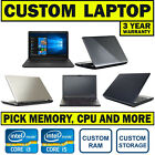 FAST WINDOWS 10 - INTEL CORE i3 i5 - 4GB 8GB RAM - 500GB 1TB HDD - CHEAP LAPTOP