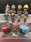 "Team Fortress 2 Portable Mercs 3"" Figure Red Spy Engineer Soldier Scout Pyro"