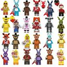 8pcs/set Five Nights At Freddy's Bonnie Foxy Freddy Kids Building Blocks Toys