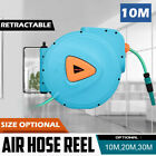 20/30m Retractable Air Hose Reel Compressor Wall Mounted Auto Rewind System