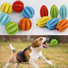 Puppy Pet Puzzle Toy Food Dispenser Tough-Treat Ball Dog Interactive Play Toy UK