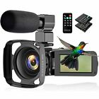 CamVeo 2.7K Video Camera Camcorder, Vlogging Camera with 16X powerful zoom and 3