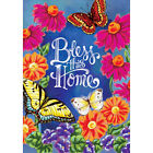 Welcome Bless this home Garden Flag House Double-sided Decor Yard Banner