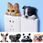 Cartoon Wall Sticker Cute Animal Decoration^diy Resin Decal Art Mural Home Decor