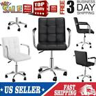 Mid-back Executive Swivel Office Desk Chair Adjustable Ergonomic Computer New