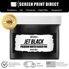 Внешний вид - Ecotex® Jet Black Water Based Ink for Screen Printing - All Sizes