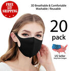 Внешний вид - 20 Pack Unisex Face Mask Reusable Washable Cover Masks Fashion Cloth Men Women