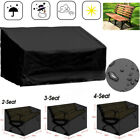 Outdoor Garden Furniture Sofa Cover Chair Storage Waterproof High Back Cover