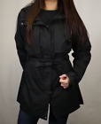 Columbia Women's Black Pardon My Trench Full Zip Rain Jacket 010
