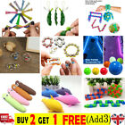 Autism ADHD Stress FIDGET TOYS Stress Relief Hand Spinners Sensory Toys Chew