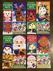 Christmas Face Activity Books 150 Repositionable Stickers 24 Pages You Choose