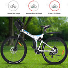 26inch Folding Electric Bike Mountain Bicycle 350W +36V Battery 21 Speed Gears*