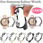 3PCS Electroplated Watch Case Cover Edge Protective For Samsung Galaxy 46mm 42mm