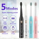 5 Modes Electric Toothbrushes USB Rechargeable Whitening Teeth Brushes Oral Care