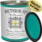 Retique It Chalk Furniture Paint by Renaissance DIY, 32 oz (Quart), 44 Ultramar