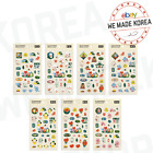 BT21 Character Clear Sticker PLANET Ver. Official K-POP Authentic Goods