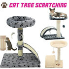 ⭐️Cat Tree Sisal Scratcher Scratch Post Toy Scratching Activity Centre Sleep New