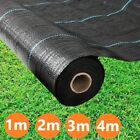 Heavy Duty Weed Control Ground Cover Barrier Fabric Membrane Landscape Sheet Mat
