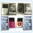 Apple iPod Classic 6th 7th Gen Silver/Black/Gold/Red 80GB/120GB/160GB/256GB