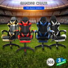 Game Chair Office Computer Seat Racing Telescopic Pedal Adjustable Recliner