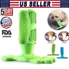 Dog Teeth Cleaning Toy Toothbrush Molars Ball Chew Bite Pet Dental Health Care