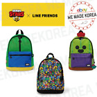 BRAWL STARS x LINE FRIENDS Backpack LEON SPIKE PATTERN Ver. Authentic Goods