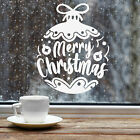 Bauble Merry Christmas Home Wall Window Sticker Vinyl Decal Shop Xmas Decoration