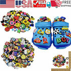 Random PVC Shoe Charms fit for shoes with holes and Bracelet Lot of 80 120 150pc