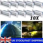 10x LED Brick Light Wall Light Recessed Stainless Steel in Warm White Cool White